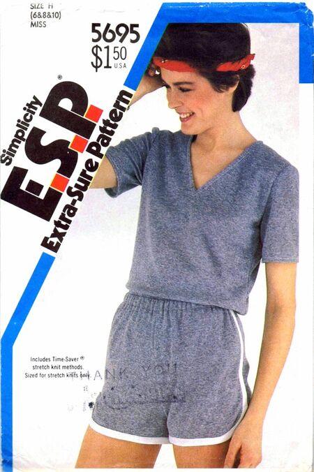 Simplicity 1982 5695