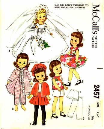 McCalls 1961 2457