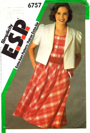 Simplicity 1984 6757