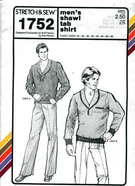 Stretch&sew1752mens