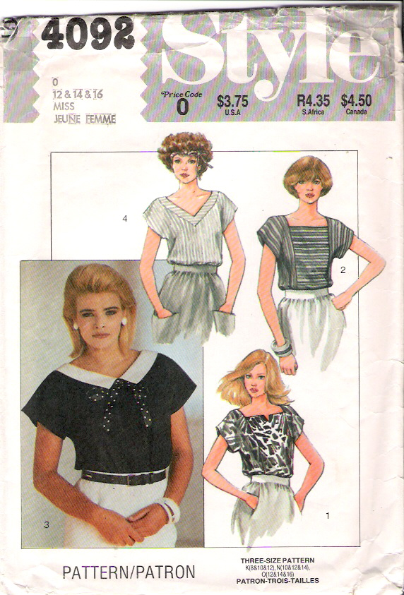 Style4092MissTop80sSize12