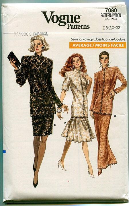 Vogue 7080 at Design Rewind Fashions on Etsy