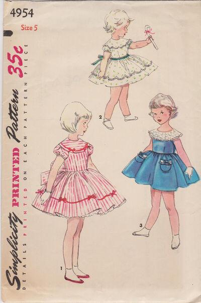 1954 Simplicity 4954