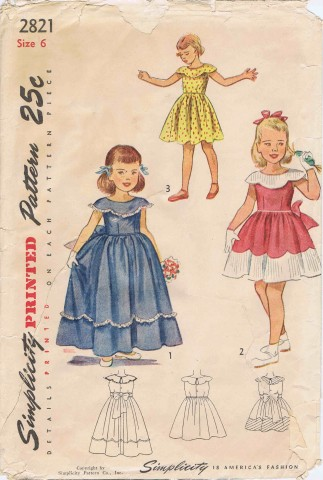 Simplicity 1949 2821