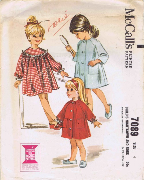 McCalls 1963 7089