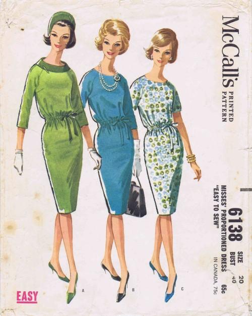 McCalls 1961 6138