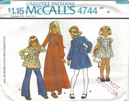 McCalls 4744