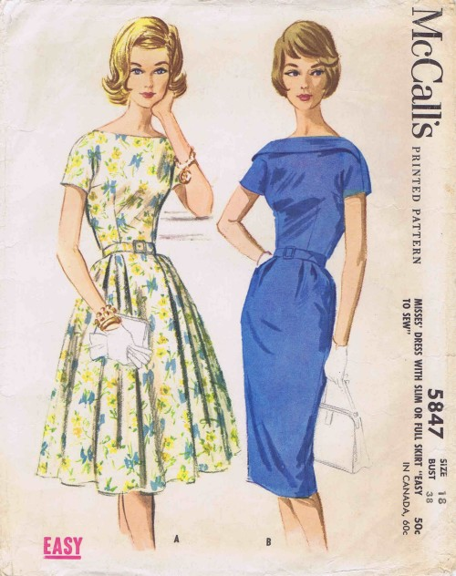 McCalls 1961 5847