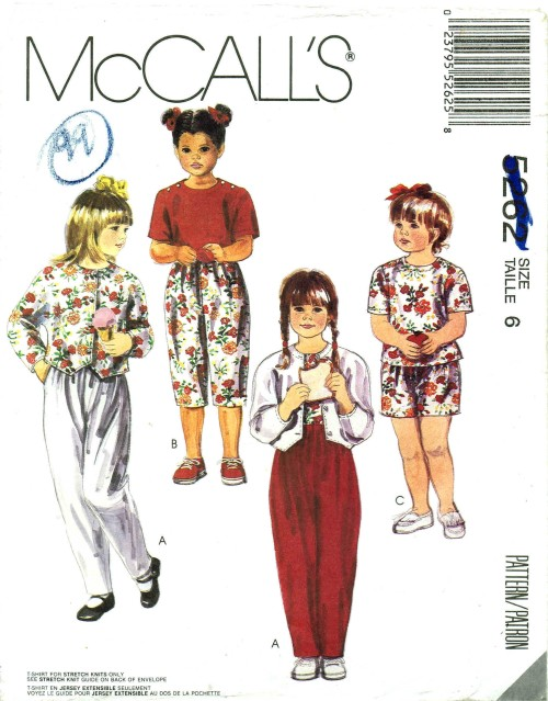 McCalls 1991 5262
