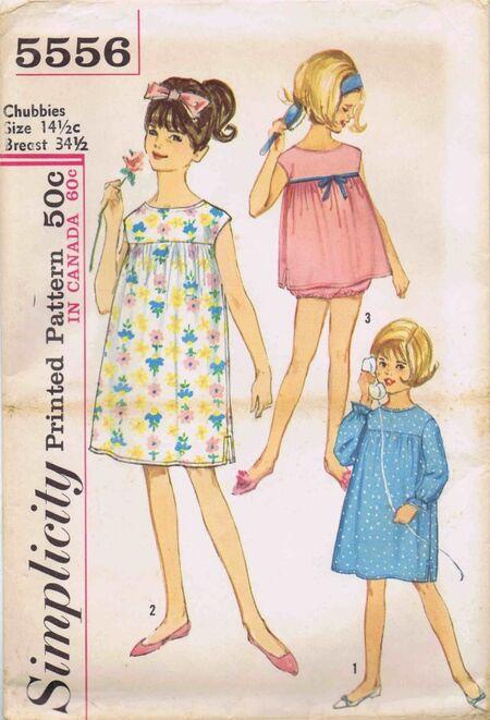 Simplicity 1964 5556
