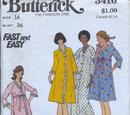 Butterick 3416 A