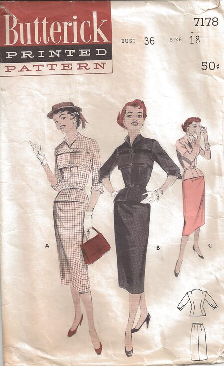 Butterick Pattern 7178 Front
