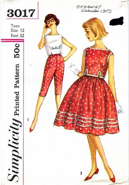 Simplicity 1959 3017