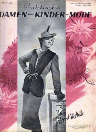 Praktische Damen und Kinder Mode 1938