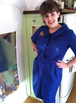 Rosie wednesday butterick 8576