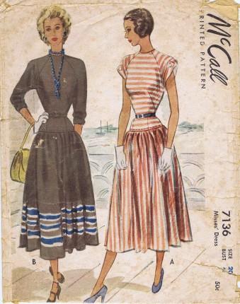 McCall 1947 7136