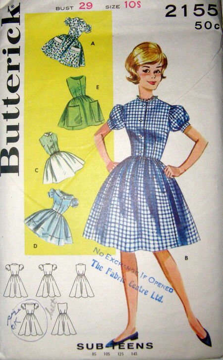 Butterick 2155 image