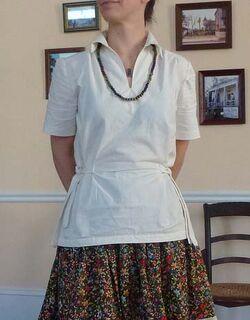 Buuterick blouse
