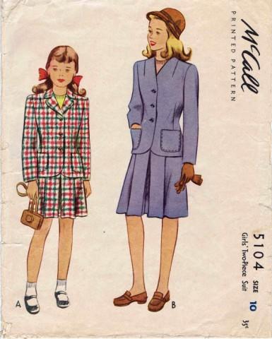 McCall 1943 5104