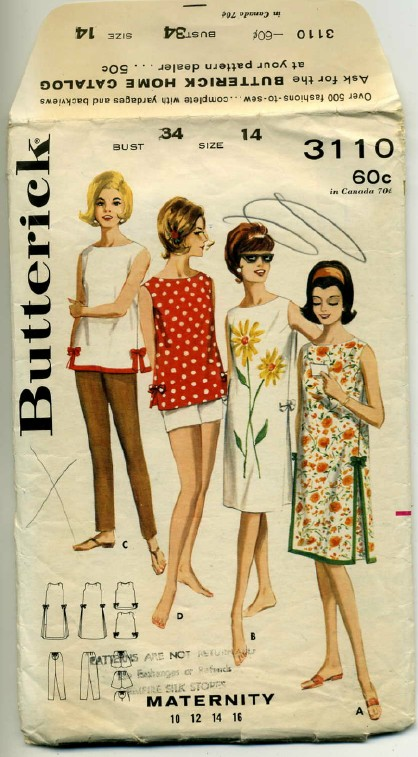 Butterick 3110 image