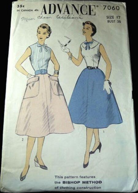 Vop-1309-01-advance-7060-vintage-skirt-pattern