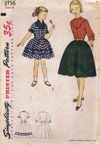 Simplicity 1951 3756