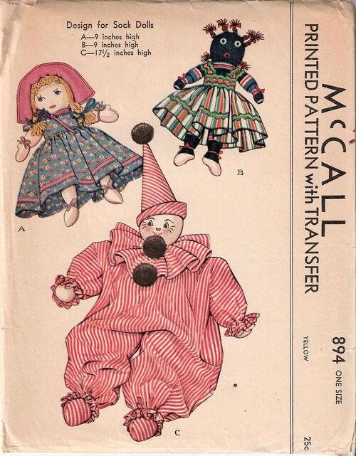 Mccall-design-for-sock-doll