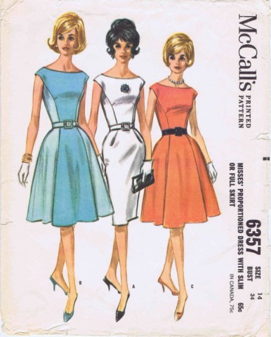 McCalls 1963 6357