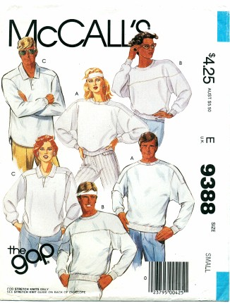 McCalls 1985 9388