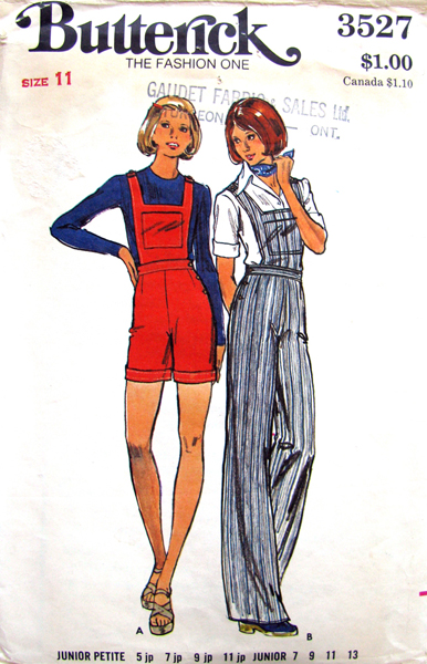 Butterick 3527 A image