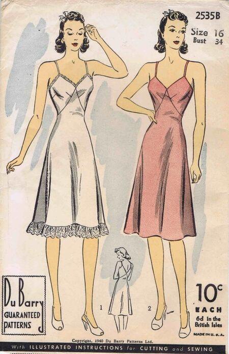 DuBarry 1940 2535B