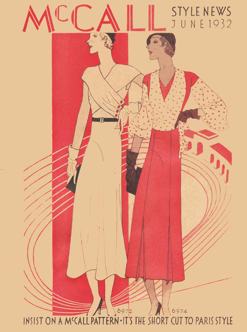 McCall Style News June 1932