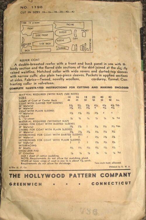 Hollywood 1198 back