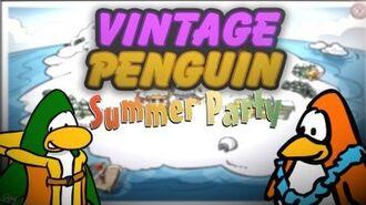 Vintage Penguin Summer Party - Sneak Peak