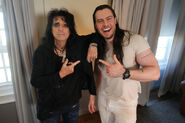 Alice Cooper and Andrew W.K.