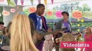 """Violetta 2 English Guys singing """"Te fazer feliz"""" in English Ep"""