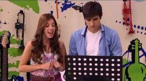 "Violetta - Cami sings ""Breathless"""