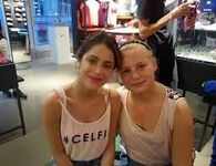 Tini and a fan in Berlin