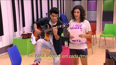 Violetta - Momento musical Tomas e Naty cantam juntos