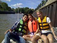 Pablini on boat