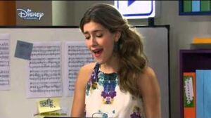 Violetta 2 - Angie sings - Breathless (Habla si puedes) English - Episode 10