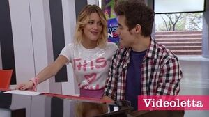 "Violetta 3 English Leon and Vilu sing ""Love is in the air"" Ep"