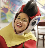 Alba Rico as parrot