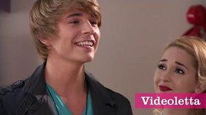 """Violetta 3 English Felipe sings """"Friends till the end"""" with guys Ep"""