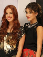 Cande and Tini
