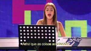 """Violetta sings """"Junto a Ti"""""""