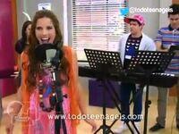 Camila singing in English
