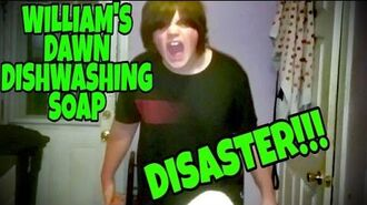 WILLIAM'S DAWN DISHWASHING SOAP DISASTER!!!