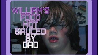 WILLIAM'S FOOD HOT SAUCED BY DAD
