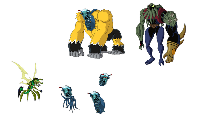 File:Dr. Animo's, Vilgax and Stinkfly.png